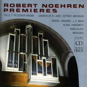 Robert Noehren: Premieres