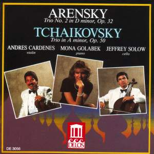 Arensky & Tchaikovsky: Piano Trios Product Image