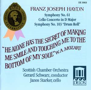 Haydn: Symphonies Nos. 61 and 103 Product Image