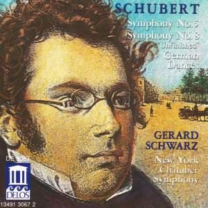 Schubert: Symphonies Nos. 5 & 8 and Six German Dances Product Image