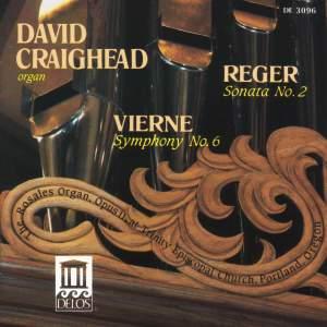 Reger: Organ Sonata No. 2 & Vierne: Organ Symphony No. 6 Product Image