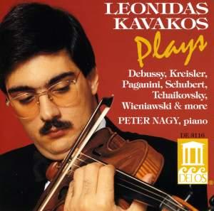 Leonidas Kavakos Plays