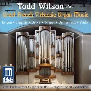 Great French Virtuoso Organ Music