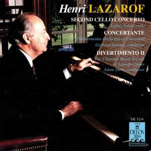 Henri Lazarof: Selected Works Product Image