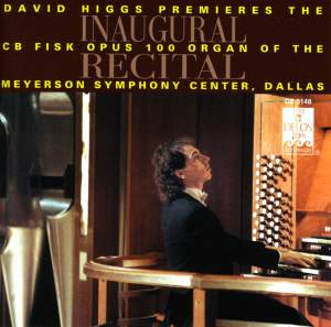 Inaugural Recital - Fisk Organ, Dallas Product Image