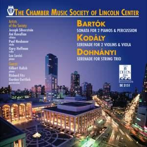 Bartók, Kodály, Dohnányi: Chamber Music Product Image