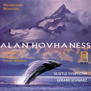 Alan Hovhaness: Mysterious Mountain ... And God Created Great Whales Product Image