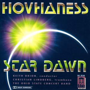 Hovhaness: Star Dawn Product Image