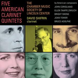 Five American Clarinet Quintets Product Image
