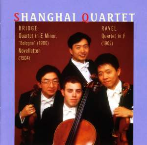 Bridge & Ravel: String Quartets Product Image