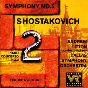 Shostakovich: Symphony No. 5 in D minor, Op. 47, etc. Product Image