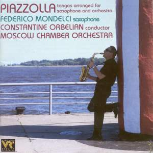 Piazzolla: Tangos arranged for saxophone and orchestra Product Image