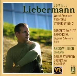Liebermann: Symphony No. 2 & Flute Concerto