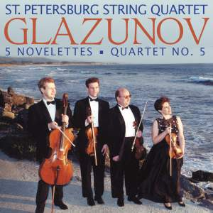 Glazunov: Music for String Quartet Product Image