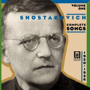 Shostakovich: Complete Songs Volume 1 Product Image