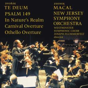 Dvorak: Te Deum, Psalm 149 & orchestral overtures Product Image