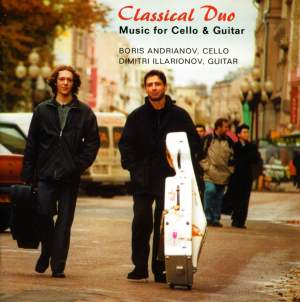 Classical Duo: Music for Cello & Guitar Product Image