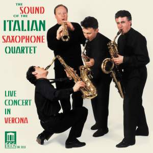The Sound of the Italian Saxophone Quartet