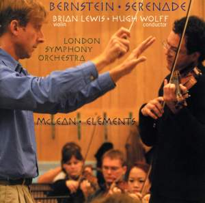 Bernstein: Serenade after Plato's Symposium & McLean: Elements Product Image