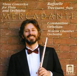 Mercadante: Three Concertos for Flute and Orchestra