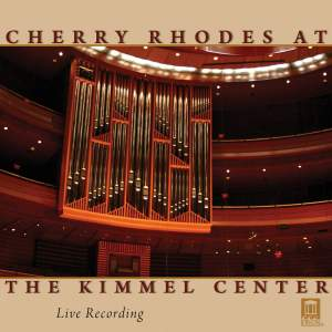 Cherry Rhodes at the Kimmel Center