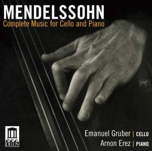 Mendelssohn: Complete Music for Cello & Piano Product Image