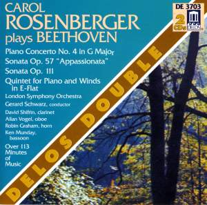 Carol Rosenberger plays Beethoven Product Image