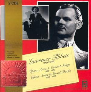 Lawrence Tibbett - Opera Arias, Concert Songs, Musicals & Soundtracks Product Image