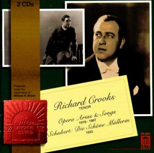 Richard Crooks sings Opera Arias and Songs Product Image