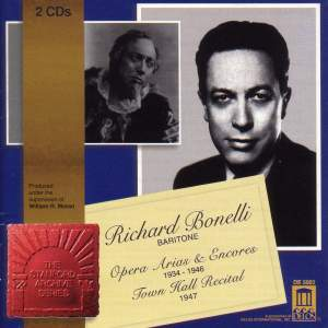 Richard Bonelli - Opera Arias & Encores Product Image