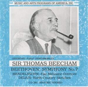 Sir Thomas Beecham conducts Beethoven, Mendelssohn & Delius