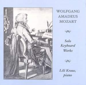 Mozart - Solo Keyboard Works