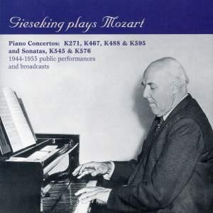 Gieseking Plays Mozart