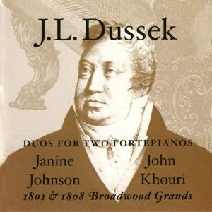 Dussek: Duos For Two Fortepianos