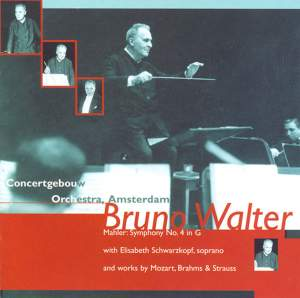 Bruno Walter conducts Mozart, Mahler, Strauss and Brahms