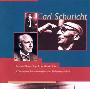 Carl Schuricht: Unissued Broadcast Performances, 1937-1951