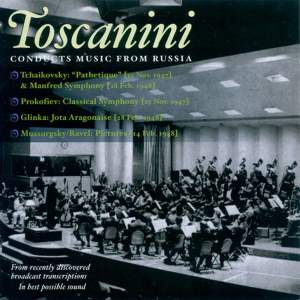 Toscanini conducts music from Russia Product Image