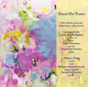 David Del Tredici - Two Song Cycles