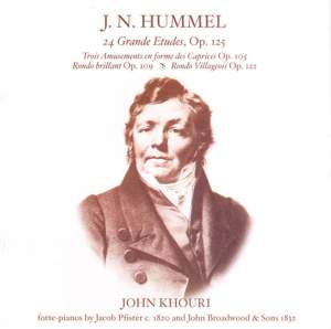 Hummel: 24 Grande Etudes Op.125 etc. Product Image