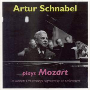 Artur Schnabel plays Mozart