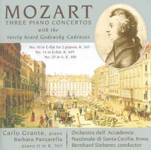 Mozart: Three Piano Concertos