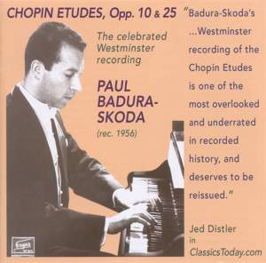 Paul Badura-Skoda plays Chopin Études