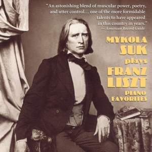 Mykola Suk plays Liszt Piano Favourites