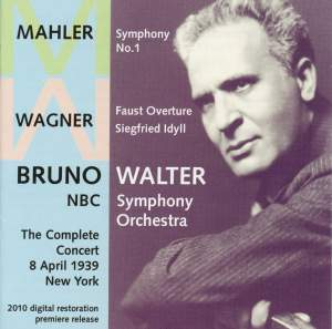 Bruno Walter with the NBC Symphony 1939