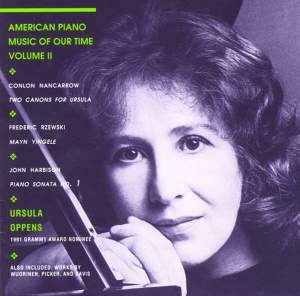 American Piano Music of Our Time, Volume II