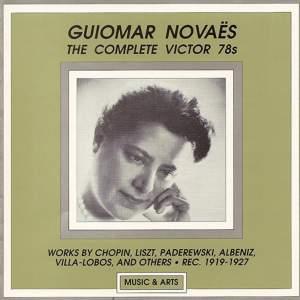 Piano Recital: Novaes, Guiomar (The Complete Victor 78S) (1919-1927)