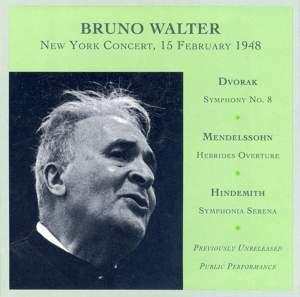 Bruno Walter: New York Concert, 15 February 1948