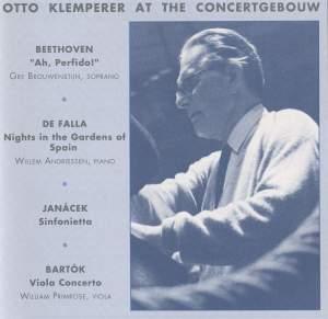 Klemperer At The Concertgebouw
