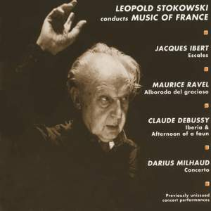Leopold Stokowski conducts Music of France