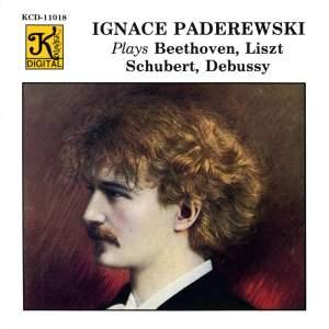 Paderewski plays Beethoven, Liszt, Schubert & Debussy